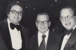 1977.00.00_Yeshiva Award_Leon_Philly Greenwald columist Earl Wilson_1